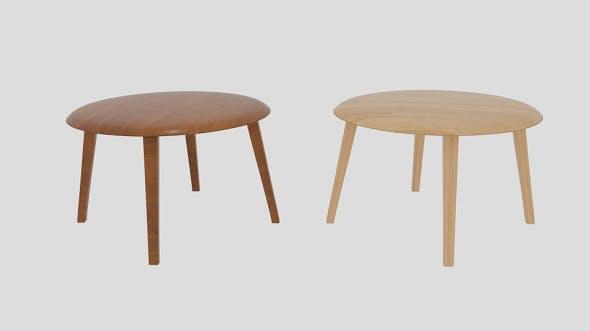 Gubi Table Lounge - 3DOcean Item for Sale