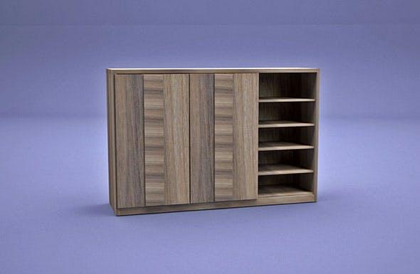 Shoe Storage - 3DOcean Item for Sale
