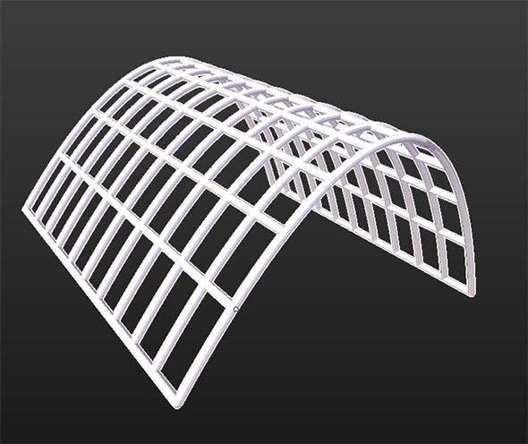 3D  Math Function (z=2-x^2) - 3DOcean Item for Sale