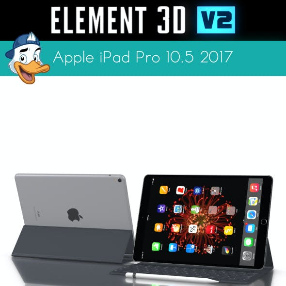 Apple iPad Pro 10.5 2017 for Element 3D