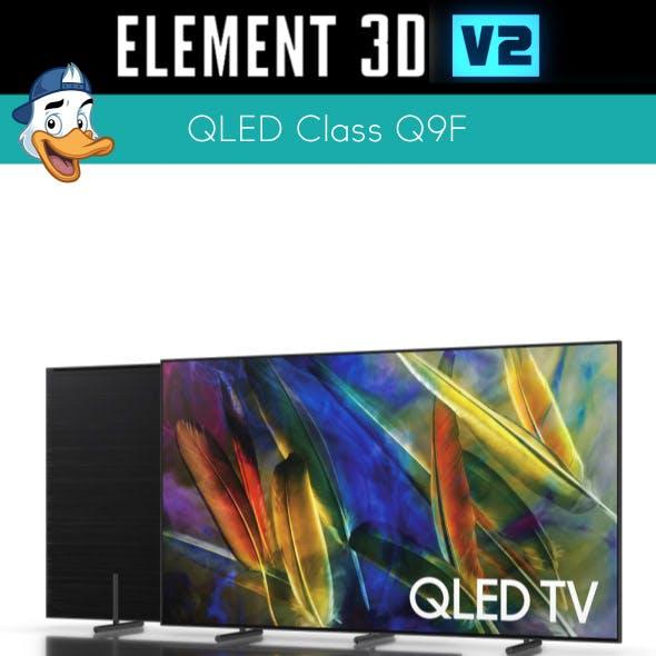 QLED Class Q9F for Element 3D