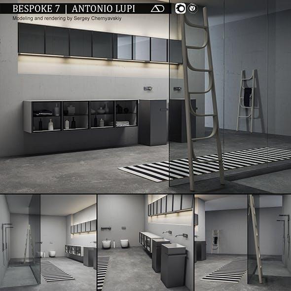 Bathroom furniture set Bespoke 7 - 3DOcean Item for Sale