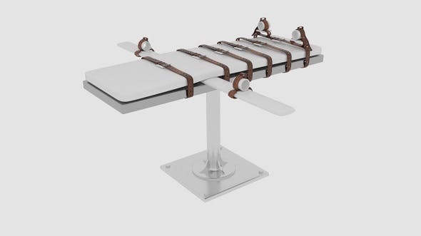 Lethal Injection Bed - 3DOcean Item for Sale