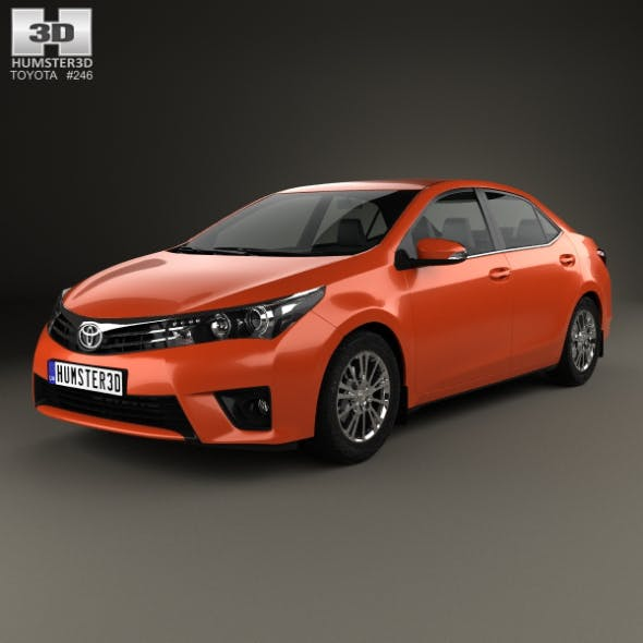 Toyota Corolla Limited 2014 - 3DOcean Item for Sale