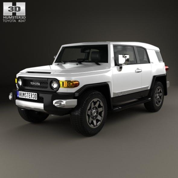 Toyota FJ Cruiser VXR 2011 - 3DOcean Item for Sale
