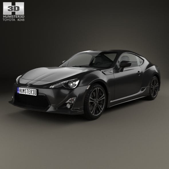 Toyota 86 GT VTX 2013 - 3DOcean Item for Sale