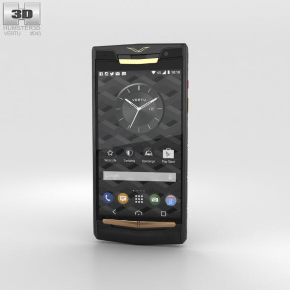 Vertu Signature Touch (2015) Pure Jet Red Gold
