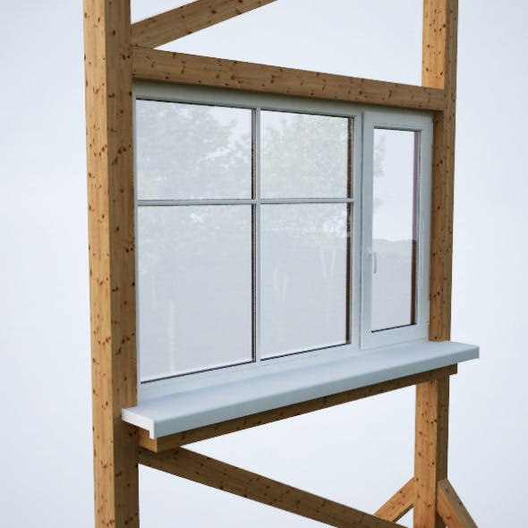 Plastic window - 3DOcean Item for Sale