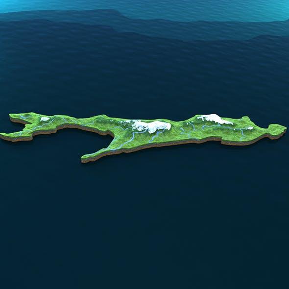 Island Sakhalin