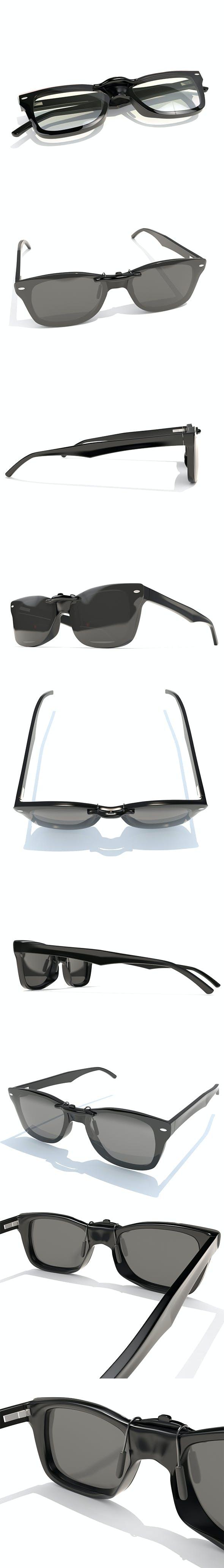 Sunglasses Wayfarer Ray Ban - 3DOcean Item for Sale