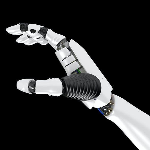 Robot Hand rigged