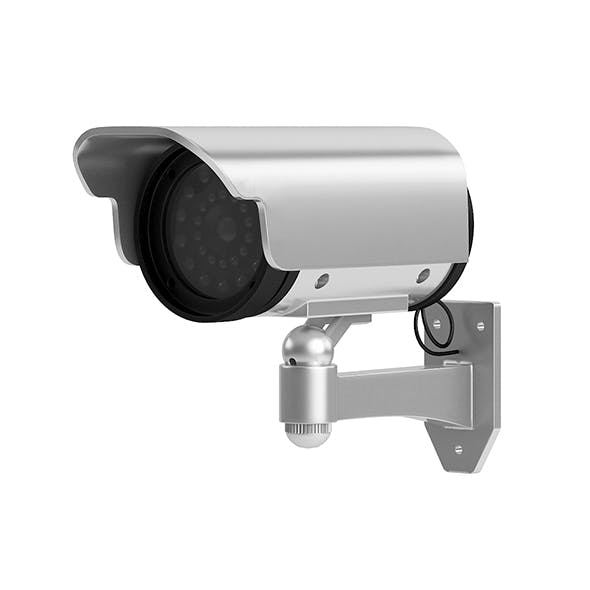 Security Camera 3D Model - 3DOcean Item for Sale