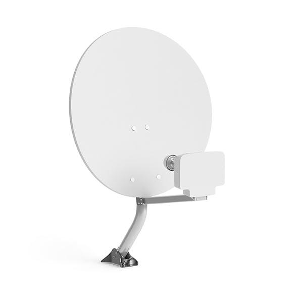Satellite Dish 3D Model - 3DOcean Item for Sale