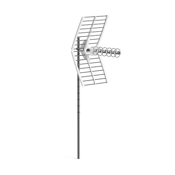 HDTV Antenna 3D Model