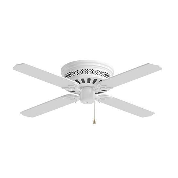 Ceiling Fan 3D Model - 3DOcean Item for Sale