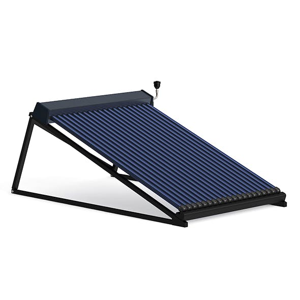 Solar Heater 3D Model - 3DOcean Item for Sale