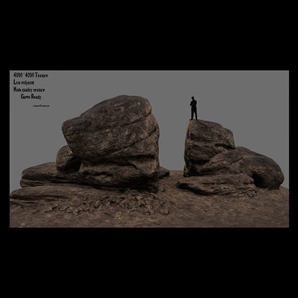 desert rocks 2 - 3DOcean Item for Sale