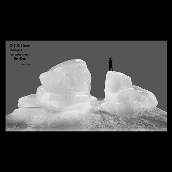 ice rock 1 - 3DOcean Item for Sale