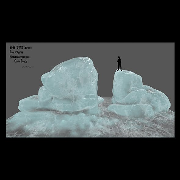 ice rock 2 - 3DOcean Item for Sale