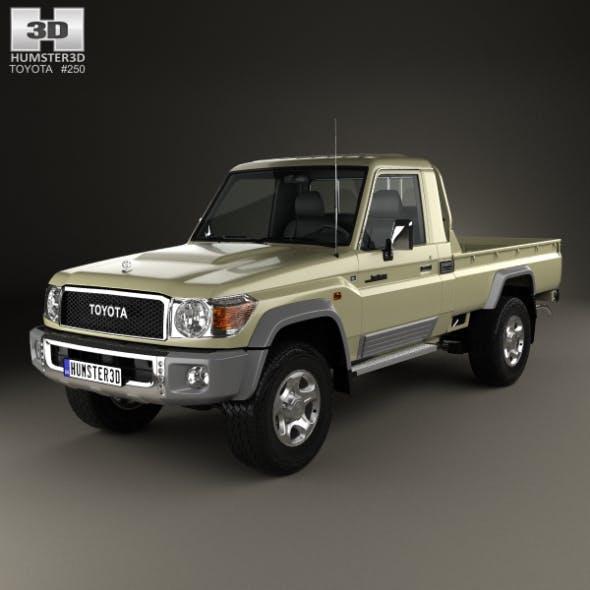 Toyota Land Cruiser Single Cab Pickup VXR 2007 - 3DOcean Item for Sale