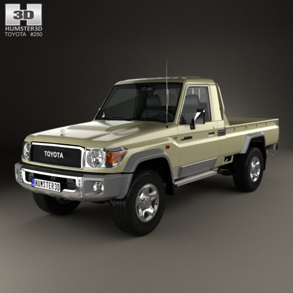 Toyota Land Cruiser Single Cab Pickup VXR 2007