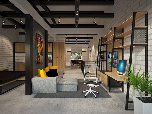Interior Apartment - 3DOcean Item for Sale