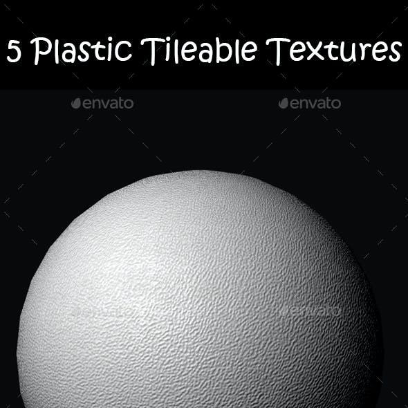 5 Realistic Plastic Tileable Textures