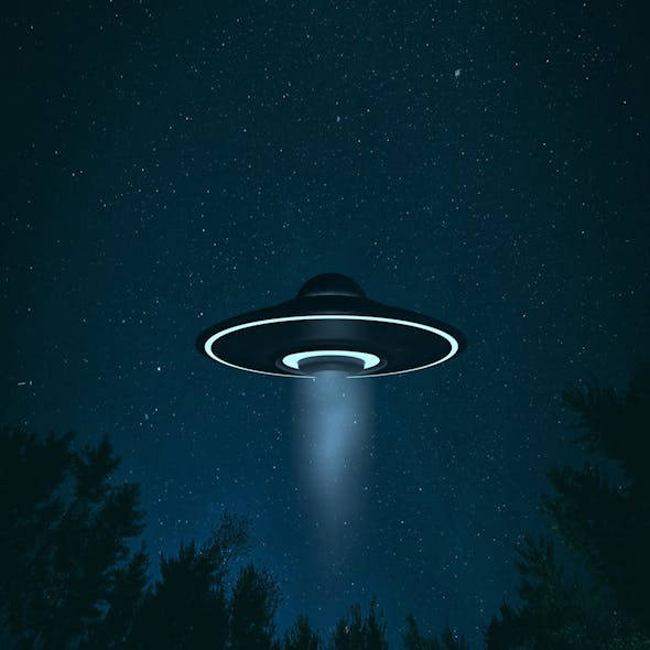 UFO Alien Flying Saucer