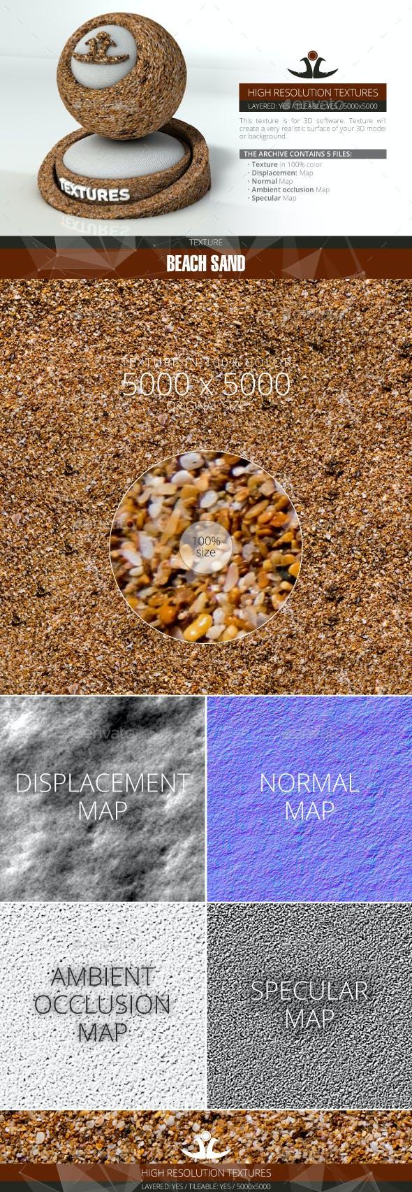 Beach Sand - 3DOcean Item for Sale