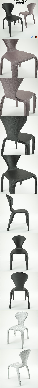 Marilyn Chair - 3DOcean Item for Sale
