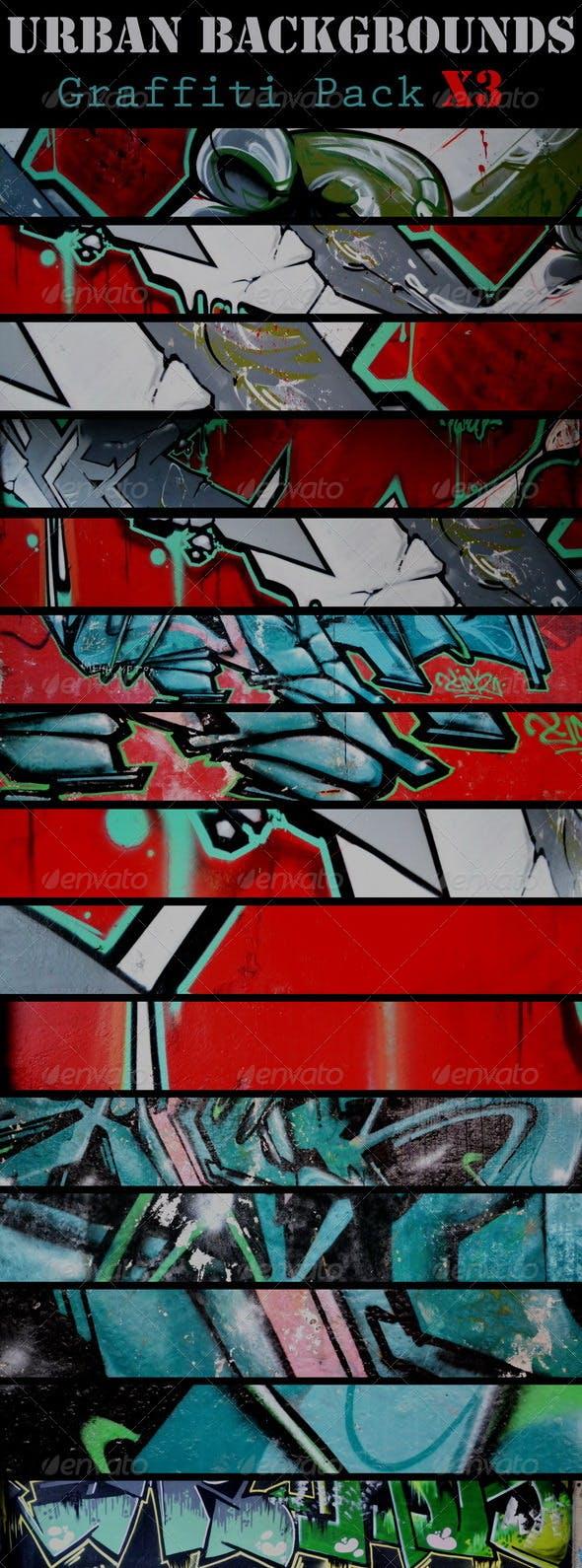 Urban Backgrounds(v_X3)   - 3DOcean Item for Sale