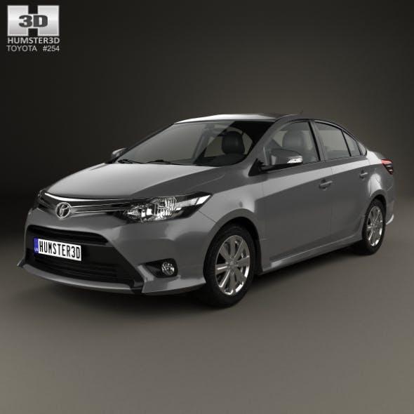 Toyota Yaris SE plus Sport sedan 2014 - 3DOcean Item for Sale
