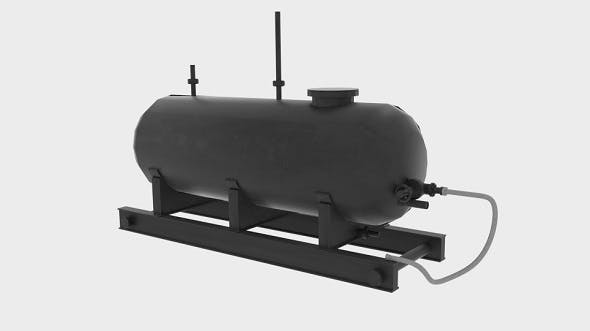 Oil Silo Tank - 3DOcean Item for Sale