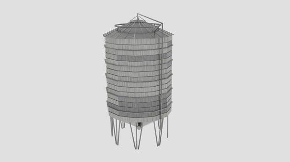 Sharman Farm Silo - 3DOcean Item for Sale