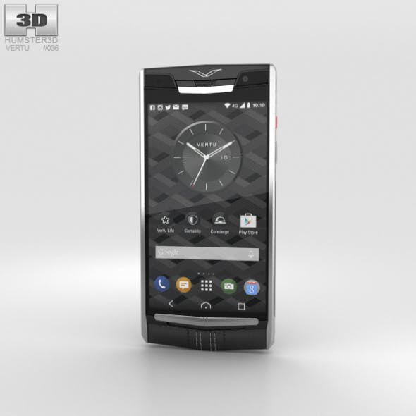 Vertu Signature Touch (2015) Jet Calf