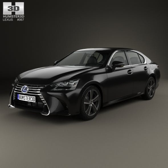 Lexus GS Hybrid 2015 - 3DOcean Item for Sale
