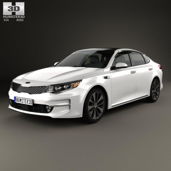 Kia K5 MX 2016