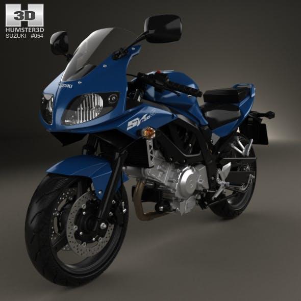 Suzuki SV650S 2015 - 3DOcean Item for Sale