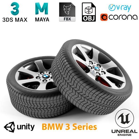 BMW 3 Series Wheel - 3DOcean Item for Sale
