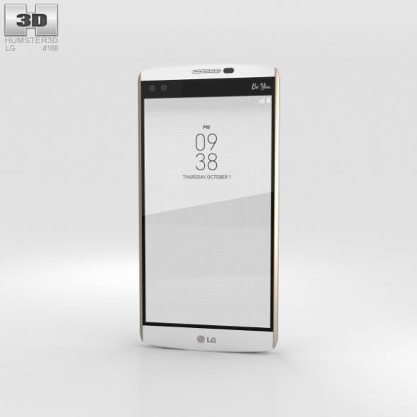 LG V10 Luxe White - 3DOcean Item for Sale