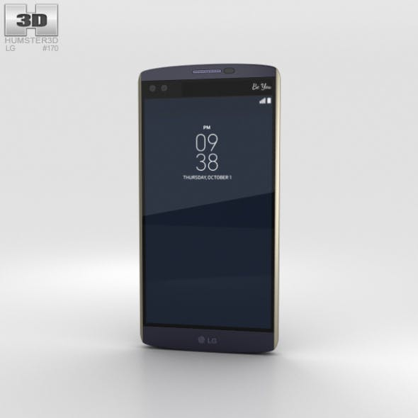 LG V10 Ocean Blue - 3DOcean Item for Sale