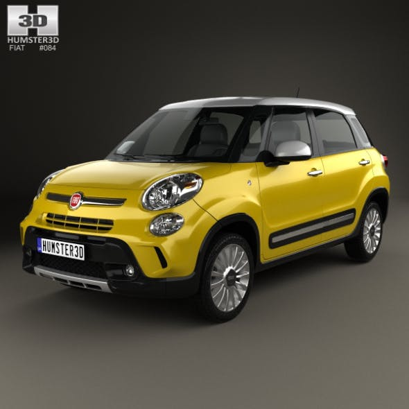 Fiat 500L Trekking 2013 - 3DOcean Item for Sale