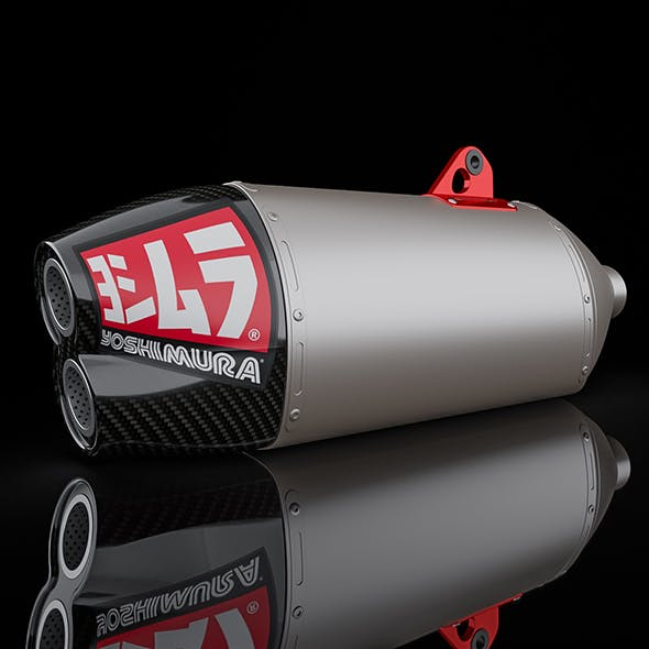 Exhaust motorcycle Yoshimura RS-4D - 3DOcean Item for Sale