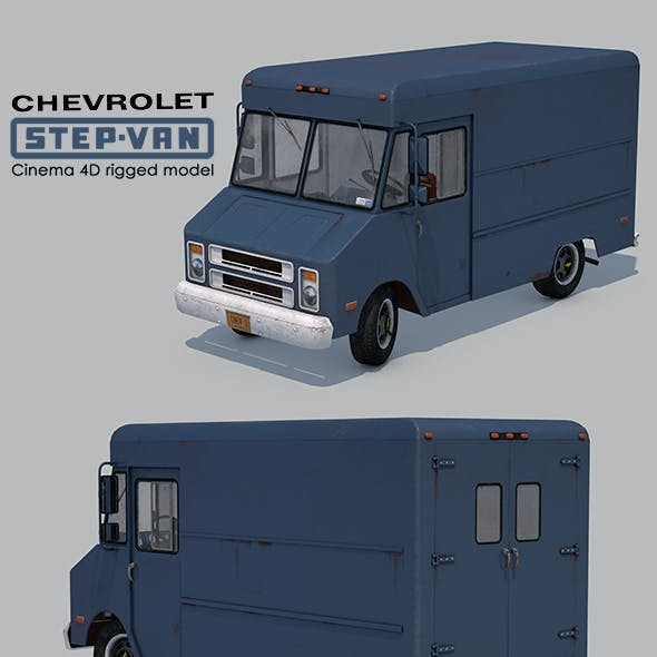 Chevrolet Step-Van P20 Rigged