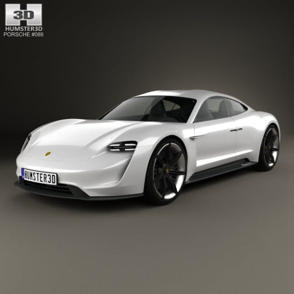 Porsche Mission E 2015 - 3DOcean Item for Sale