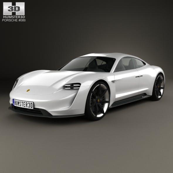 Porsche Mission E 2015