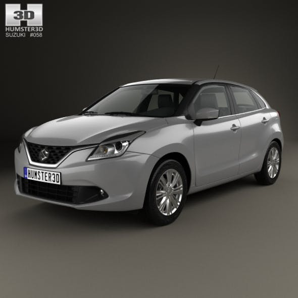 Suzuki Baleno 2015 - 3DOcean Item for Sale