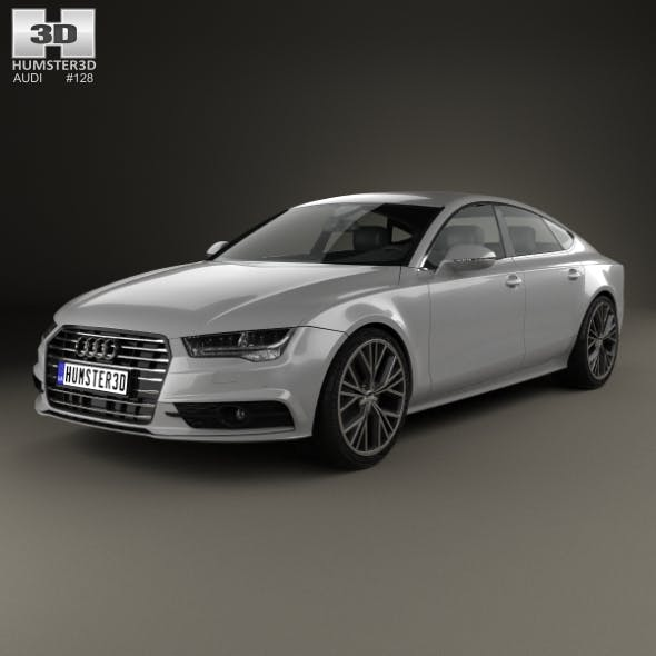 Audi A7 Sportback S-Line 2015