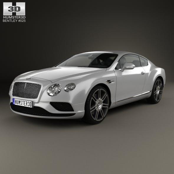 Bentley Continental GT 2015 - 3DOcean Item for Sale