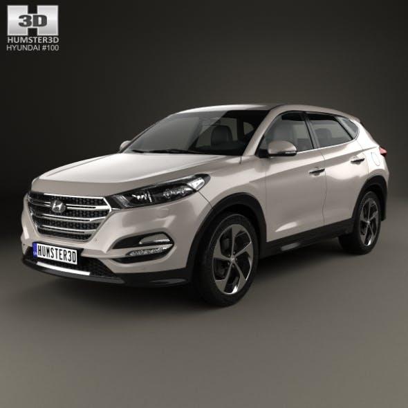 Hyundai Tucson 2016 - 3DOcean Item for Sale